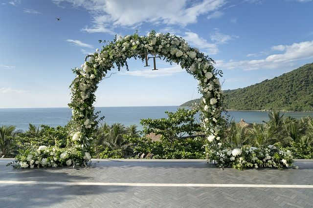 Large wedding arch Auckland