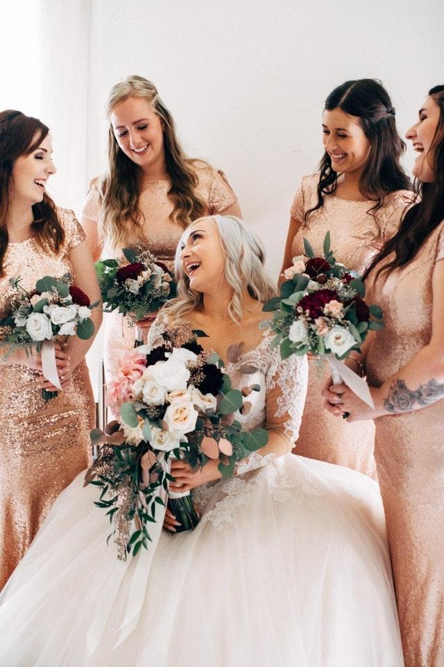 bridesmaids bouquets Auckland