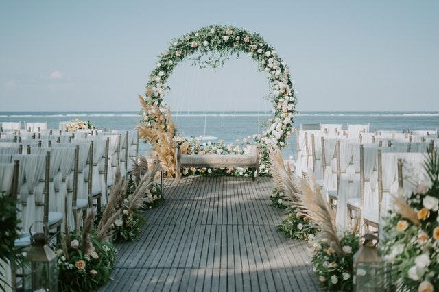 wedding flower arch small