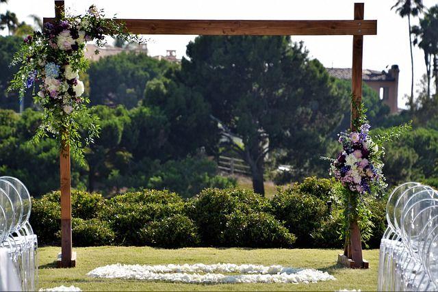 wedding flower arches Auckland